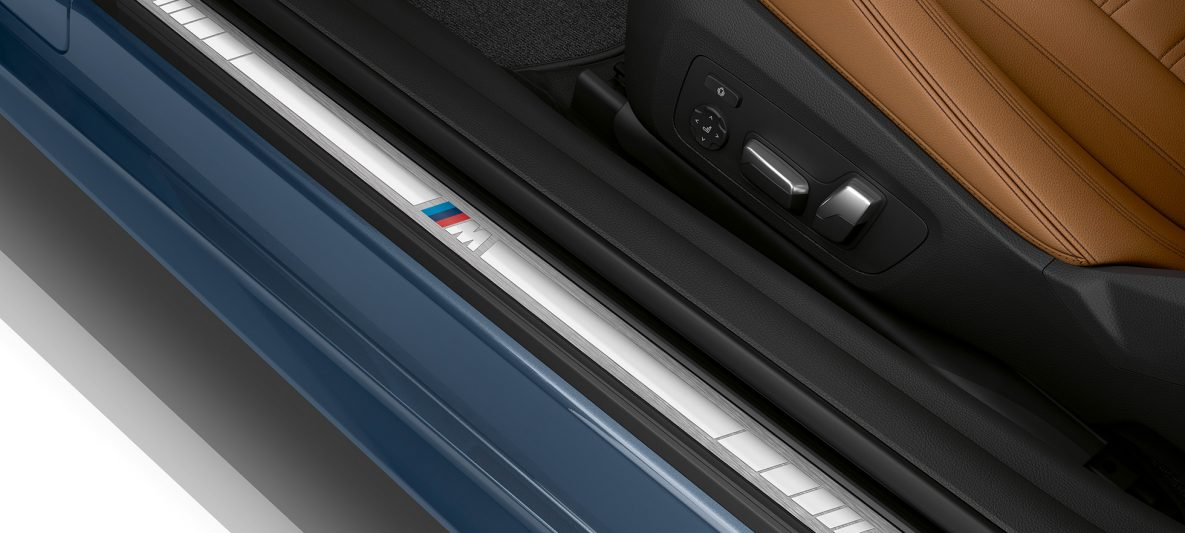 BMW 4er Coupé G22 2020 Innenraum Einstiegsleiste