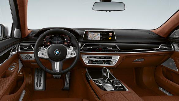 BMW M760Li xDrive Limousine Interieur