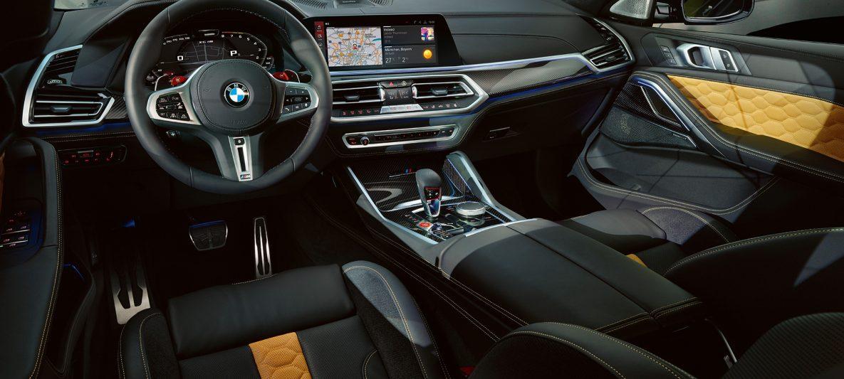 Cockpit BMW X6 M Competition F96 Innenraum