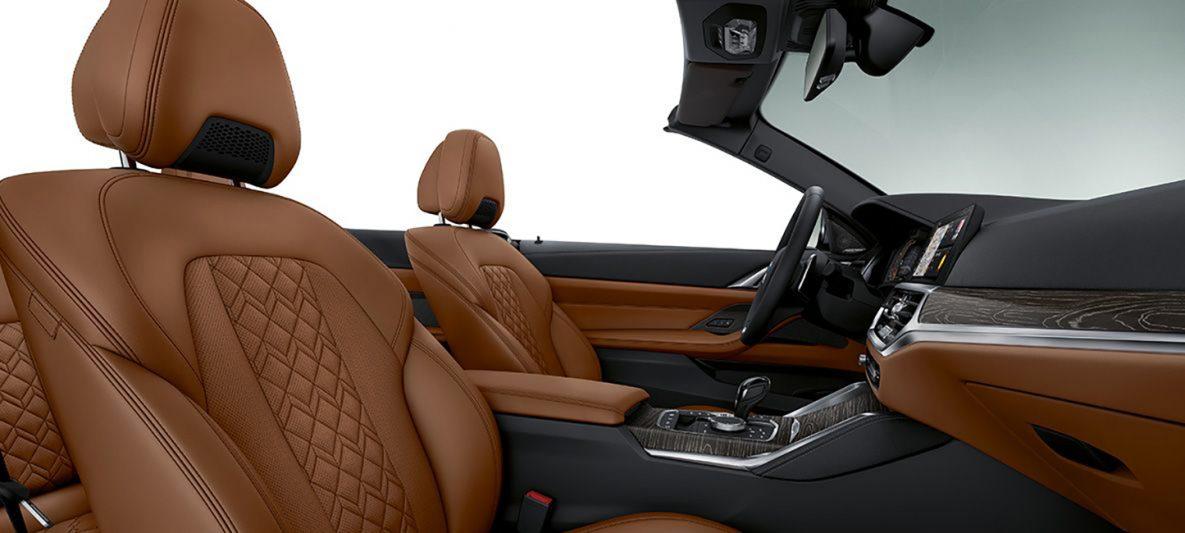 BMW 4er Cabrio innen