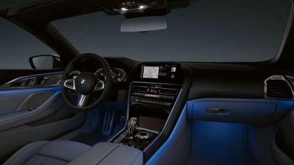 BMW 8er Cabrio ambientes Licht