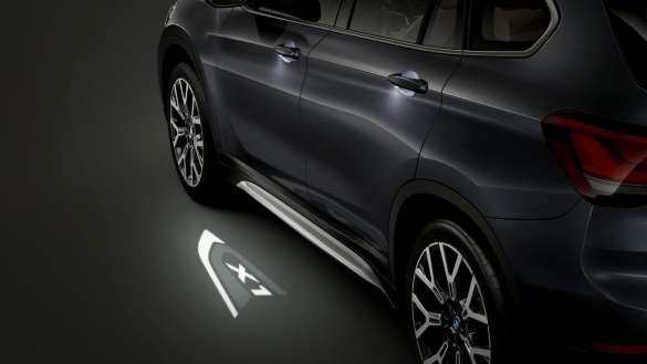 BMW X1 LED Projektion