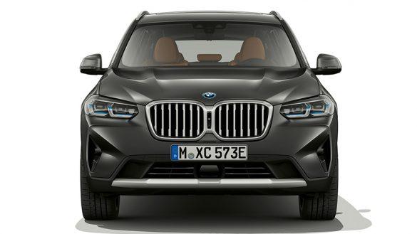 BMW X3 G01 Sophistograu Nahaufnahme Frontdesign 2021