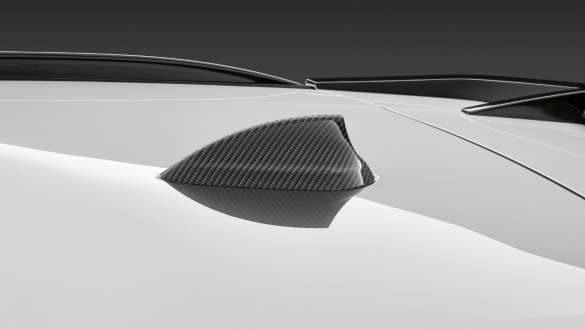 M Performance Antennenabdeckung Aramid BMW X3 M Competition F97 LCI Facelift 2021