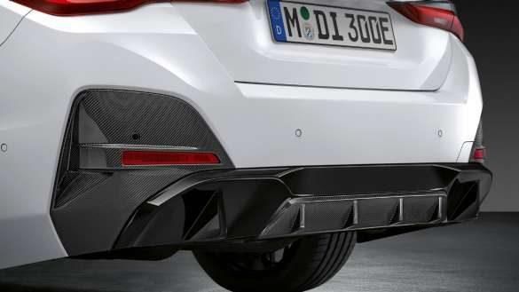 M Performance Heckdiffusor Carbon BMW i4 M50 G26 2021